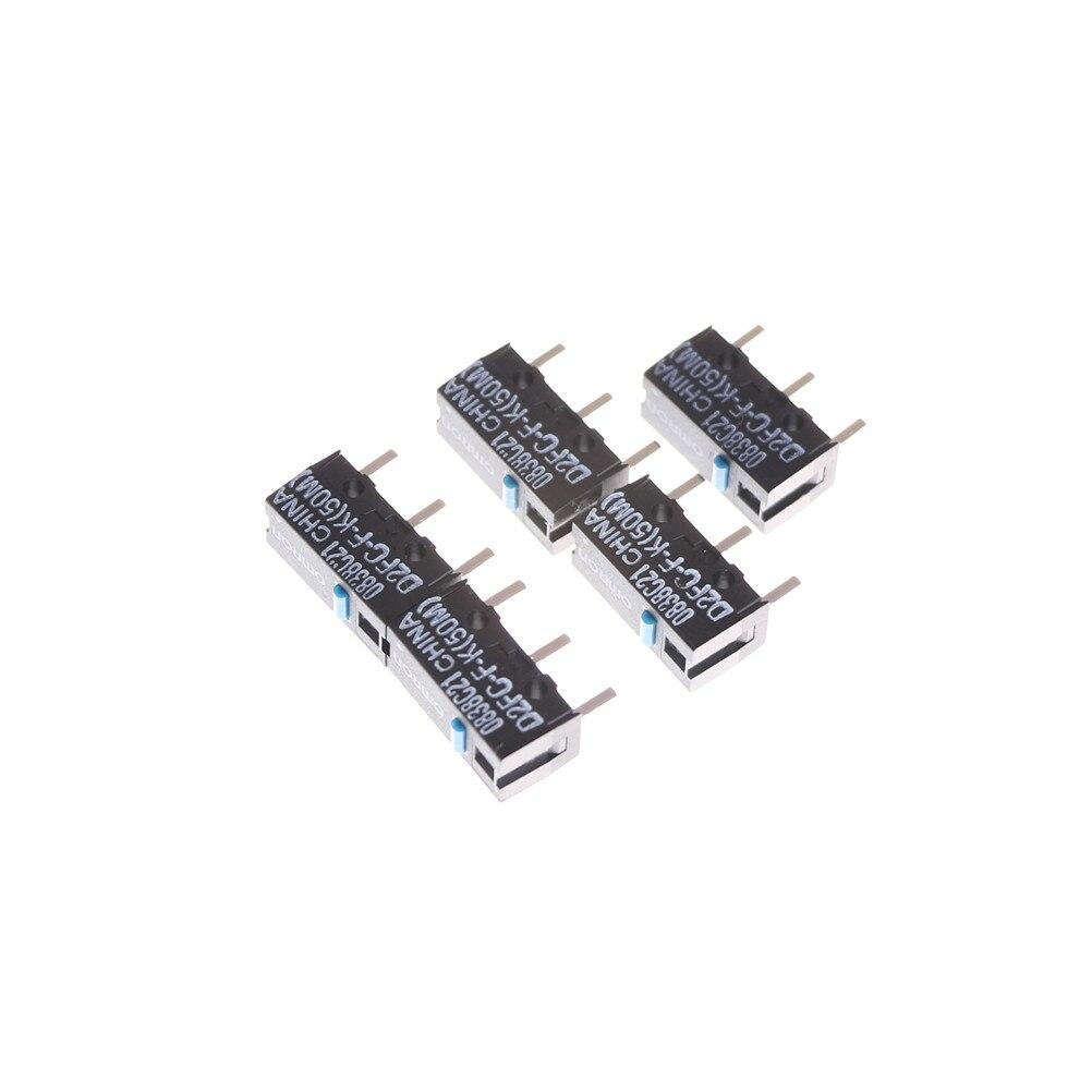 Micro interruptor microinterruptor D2FC-F-K (50 m) para ratón botón preocuparse microinterruptor 5 uds