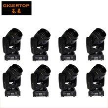 Livraison gratuite 8 unité Mini 60 W Spot tête mobile lumière Gobo/couleur effet de scène DMX 512/Mode automatique/son panoramique actif 540 inclinaison 210