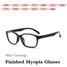 -1.0 -1.25-1.5-1.75 -2.0 -2.25 -2.5 -2.75 -3.0 -3.25 -3.5 -4.0 Black PC Nearsighted Men Women Finished Myopia Glasses Frames