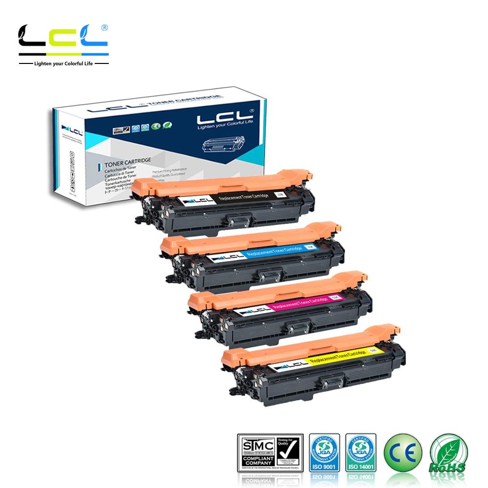 LCL 649X 648A CE260X CE261A CE262A CE263A (4-Pack) cartucho de Toner Compatível para HP Color laserJetCP4025/CP4025n/CP4025dn