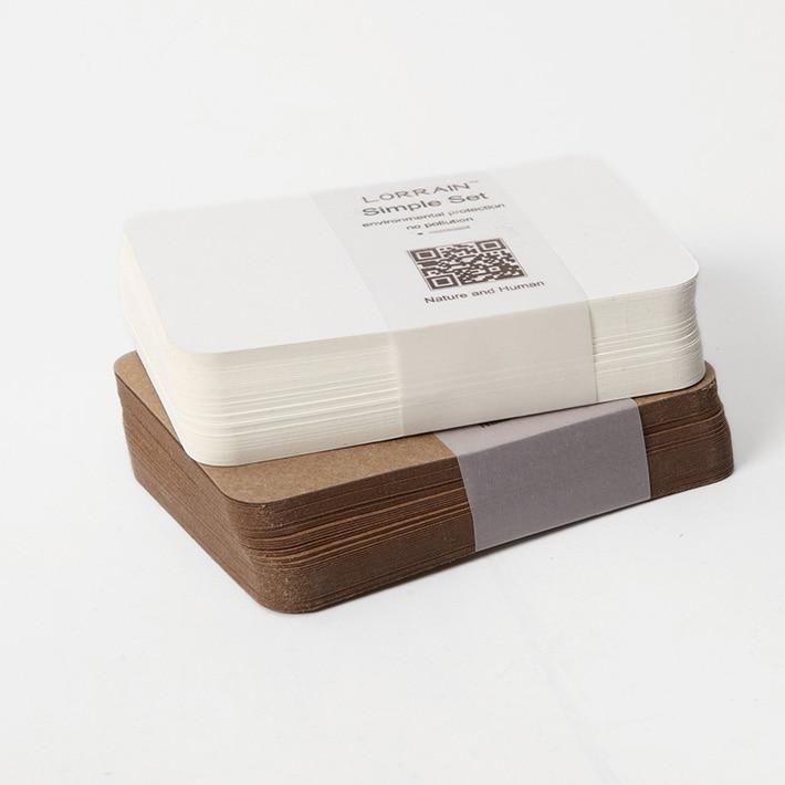 Бесплатная доставка 120 штук чистая крафт-бумага картонная бумага 350GSM