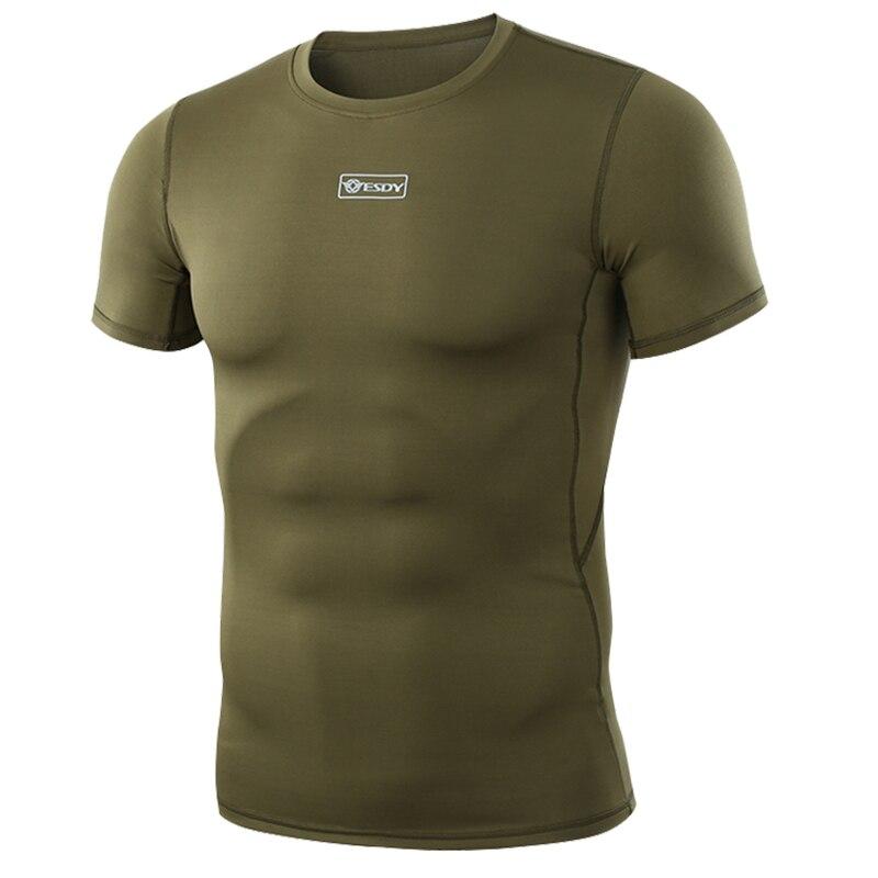 WST тактическая рубашка с коротким рукавом камуфляжная армейская рубашка с круглым воротником с защитой от ультрафиолета и пота для занятий спортом на открытом воздухе