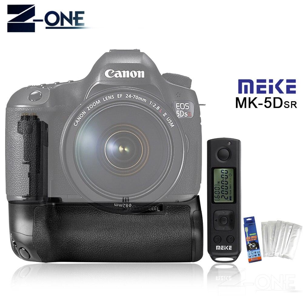 Titular Aperto Da Bateria MEIKE MK-5DS R 2.4g + Controle Remoto Sem Fio Para Canon 5DS R 5D Mark III/ 5Ds/5DsR