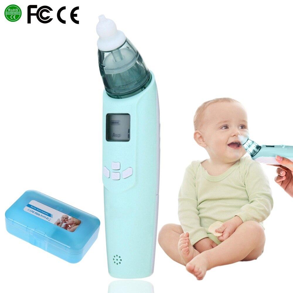 Safe baby electric nasal aspirator music nose snot nasal aspirator inhalation equipment newborn baby toddler infant care tools