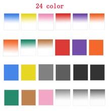 Filtres carrés filtres polychromes filtres de couleur gradués pour Cokin P