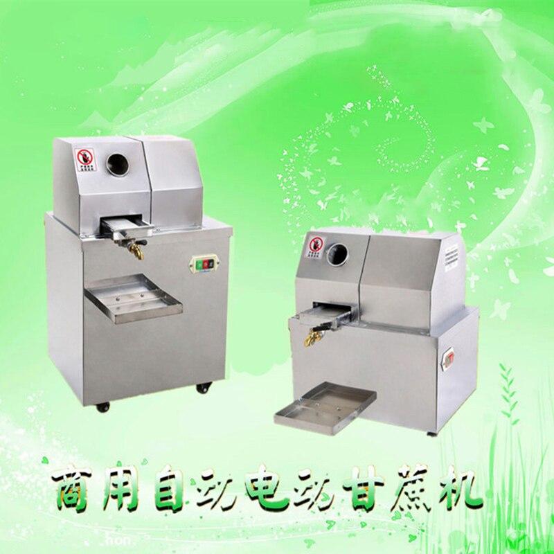 Electric stainless steel desktop Sugar cane juice machine, cane-juice squeezer,cane crusher ,Sugar can juicer