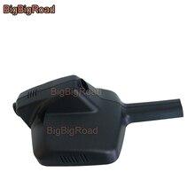 BigBigRoad-enregistreur vidéo voiture Wifi   DVR, caméra de tableau de bord, double caméra, objectif FHD 1080P pour peugeot 308 408 2015 2016 2017 2018