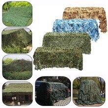 4x2m /2x3m /3x4m /3x5m chasse militaire Camouflage filets forêt armée Camouflage filet Camping soleil brise-vent ombre soleil abri