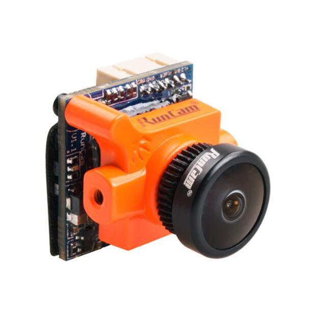 Recién llegado naranja Runcam Micro Swift 2 D-WDR FPV Cámara 600TVL PAL/NTSC escena táctil configuración integrada OSD para Drones RC