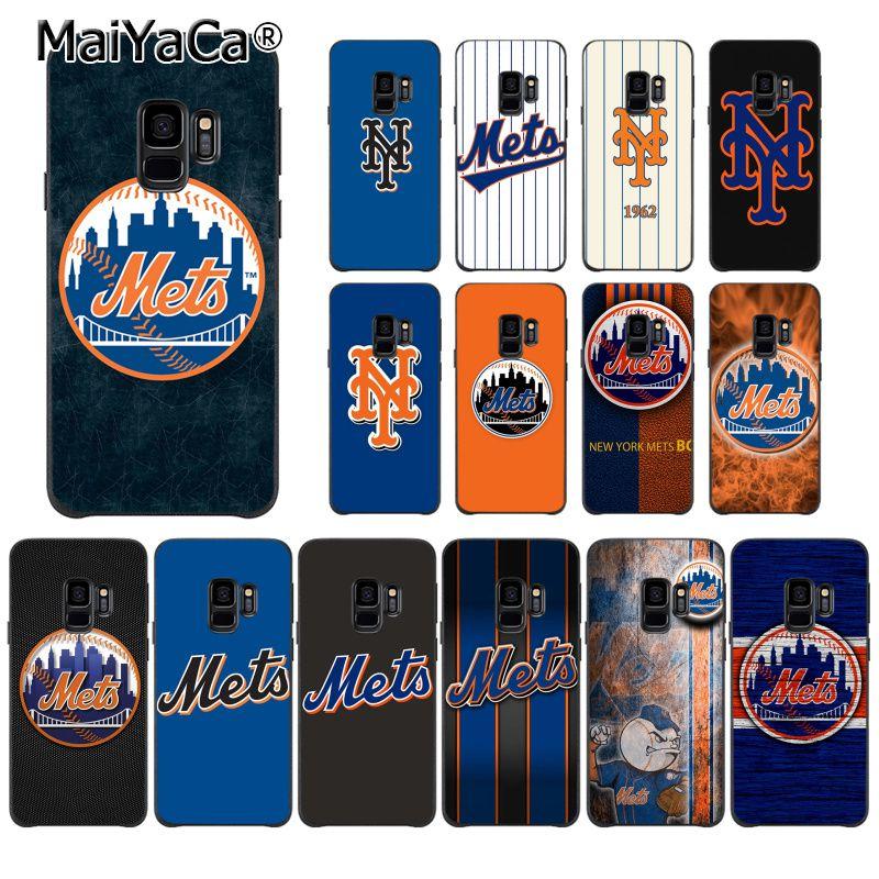 MaiYaCa Nueva York Mets TPU suave funda de silicona para teléfono Samsung S9 S9 plus S5 S6 S6edge S6plus S7 S7edge S8 S8plus