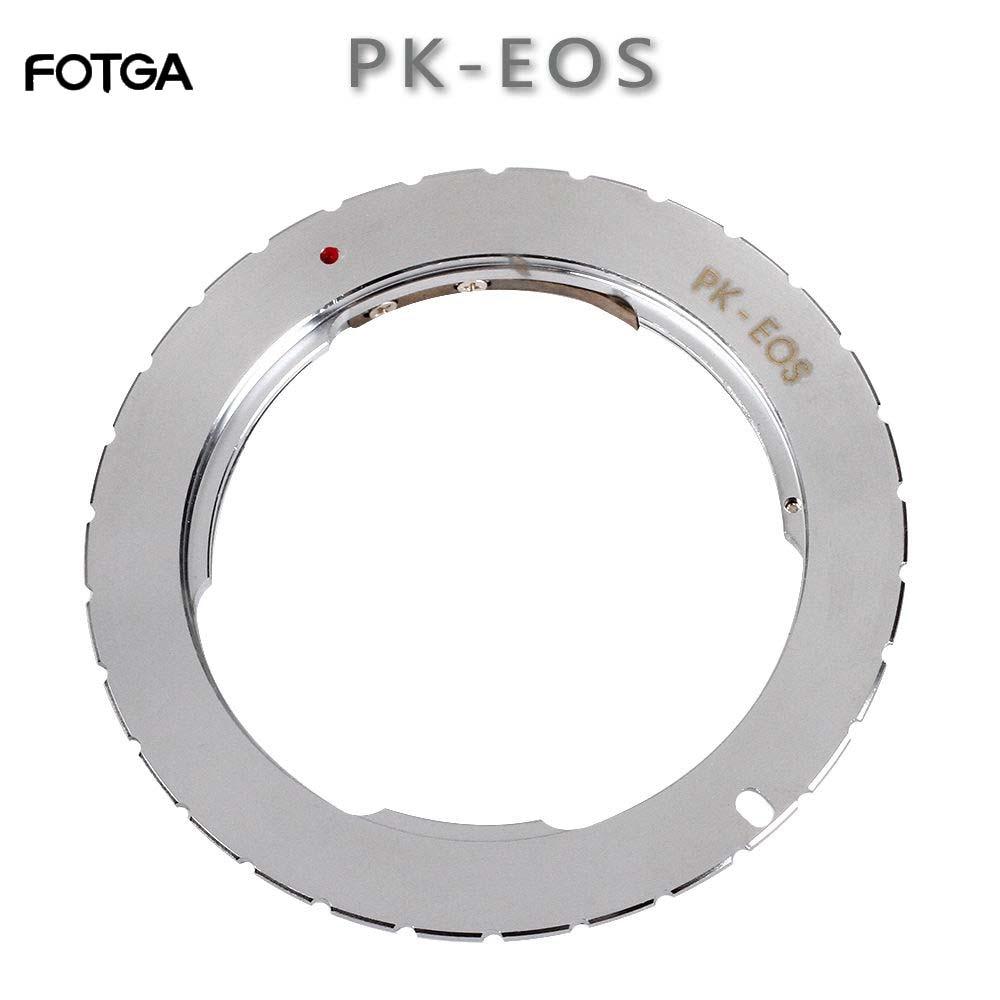 Переходное кольцо FOTGA для объектива Pentax PK к Canon EOS 760D 750D 800D 1300D 70D 7D II 5D III