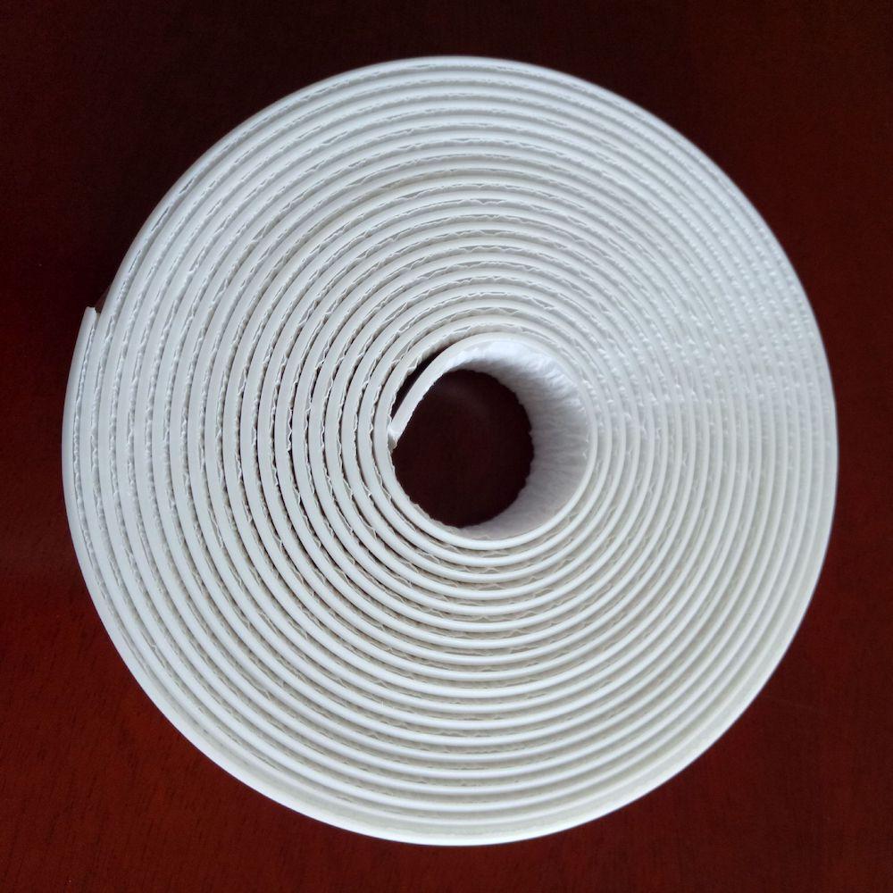 Masilla de Caulkstrip agua-fuerte cinta cocina bañera baño bañera rodean sellador PE ajuste 22 28 38x60x3,35 m 5m 16.4ft blanco