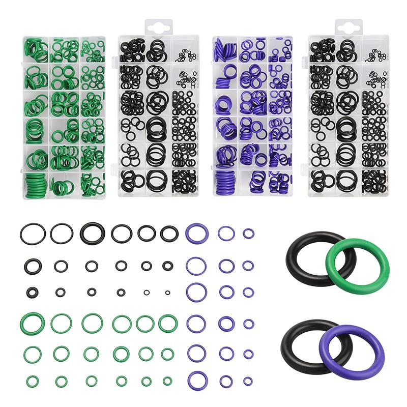 495PCS O-ring Kit Metric O ring Seals Watertightness Rubber O ring Gaskets oil resistance Assortment Kit