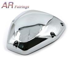 03-08 For Honda VTX 1300 1800 Chrome Motorcycle Air Filter Cover Cap Air Cleaner Intake Case Cover VTX1300 VTX1800 2003 - 2008