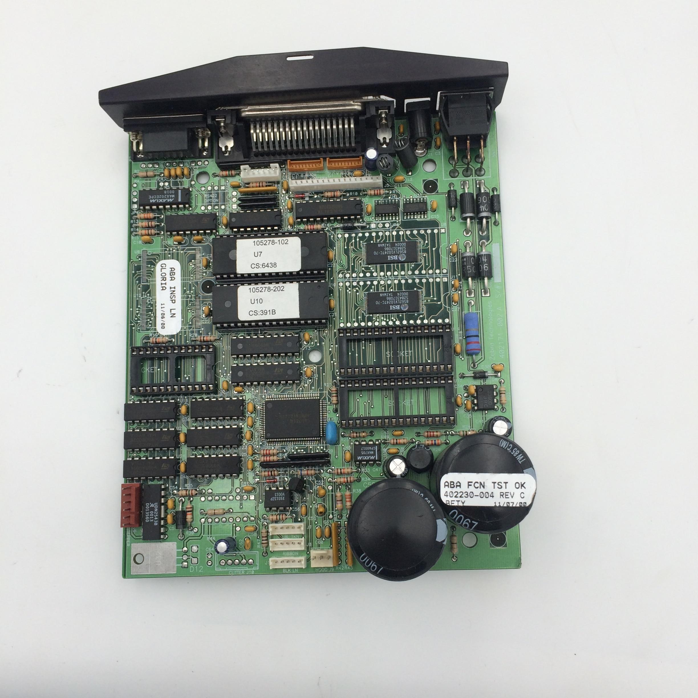 اللوحة الرئيسية لطابعة الملصقات الحرارية ZEBRA LP-2442 LP2442, أجزاء الطابعة