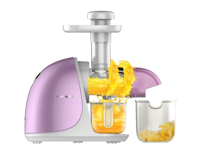 ChinaJoyoung-عصارة منخفضة السرعة ، آلة عصير منزلية ، شبكة بورسلين ، تقنية لولبية 110-220-240V
