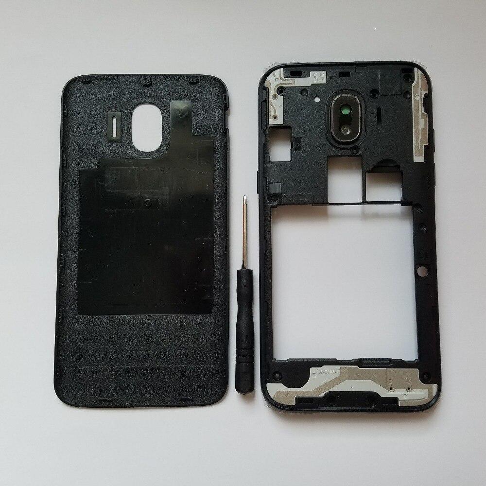 Voor Samsung Galaxy J2 Pro 2018 J250F J250H J250G J250 Telefoon Chassis Case Behuizing Midden Frame Met Rear Batterij Deur cover