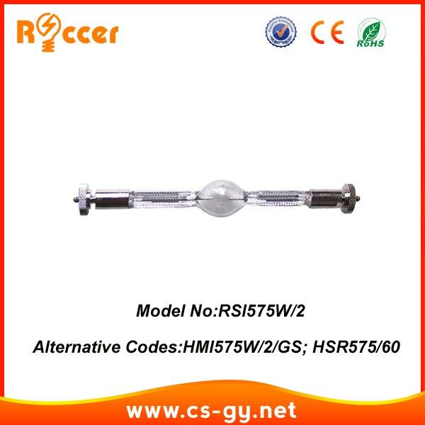 ROCCER HMI575 95V SFc10-4 moving head lights Metal Halide Lamps hmi 575/2 HMI 575 2 HSR575/75