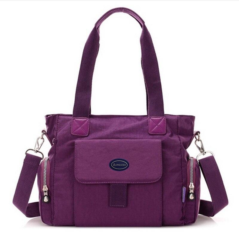 Hobo bolsas das senhoras designer de simples à prova d água saco de nylon saco grande ombro saco principal falso bolsa Crossbody Bag barato womenbags canta