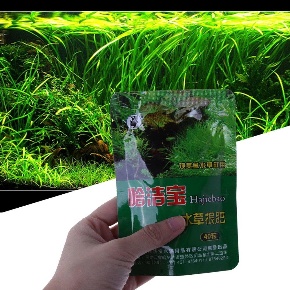Acuario planta hierba fertilizante raíz Tab cápsulas Agua Viva pecera nutrición