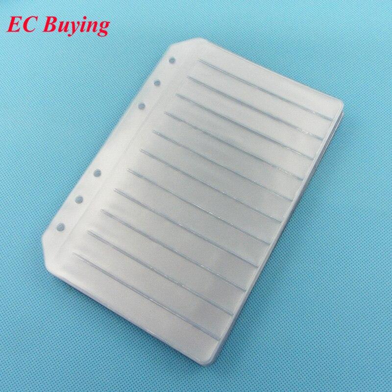 15 шт., резистор, конденсатор, индуктор, IC SMD SMT, компоненты, книга для образцов, пустая страница для электронных компонентов 0402/0603/0805/1206