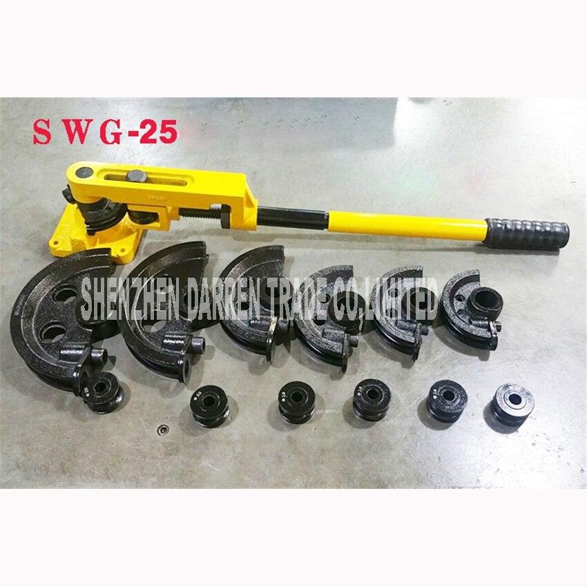 SWG-25 dobladora Manual de tubos 10,12, 14,16, 19,22, 25 (mm) Configuración de Tubos doblados alicates