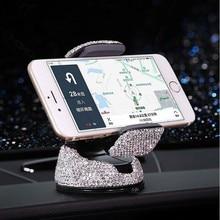 Crystal Rhinestones Universele Auto Telefoon Houder Voor Iphone Smartphone Mobiele Telefoon Auto Houder Stand Air Vent Mount Phone Houder