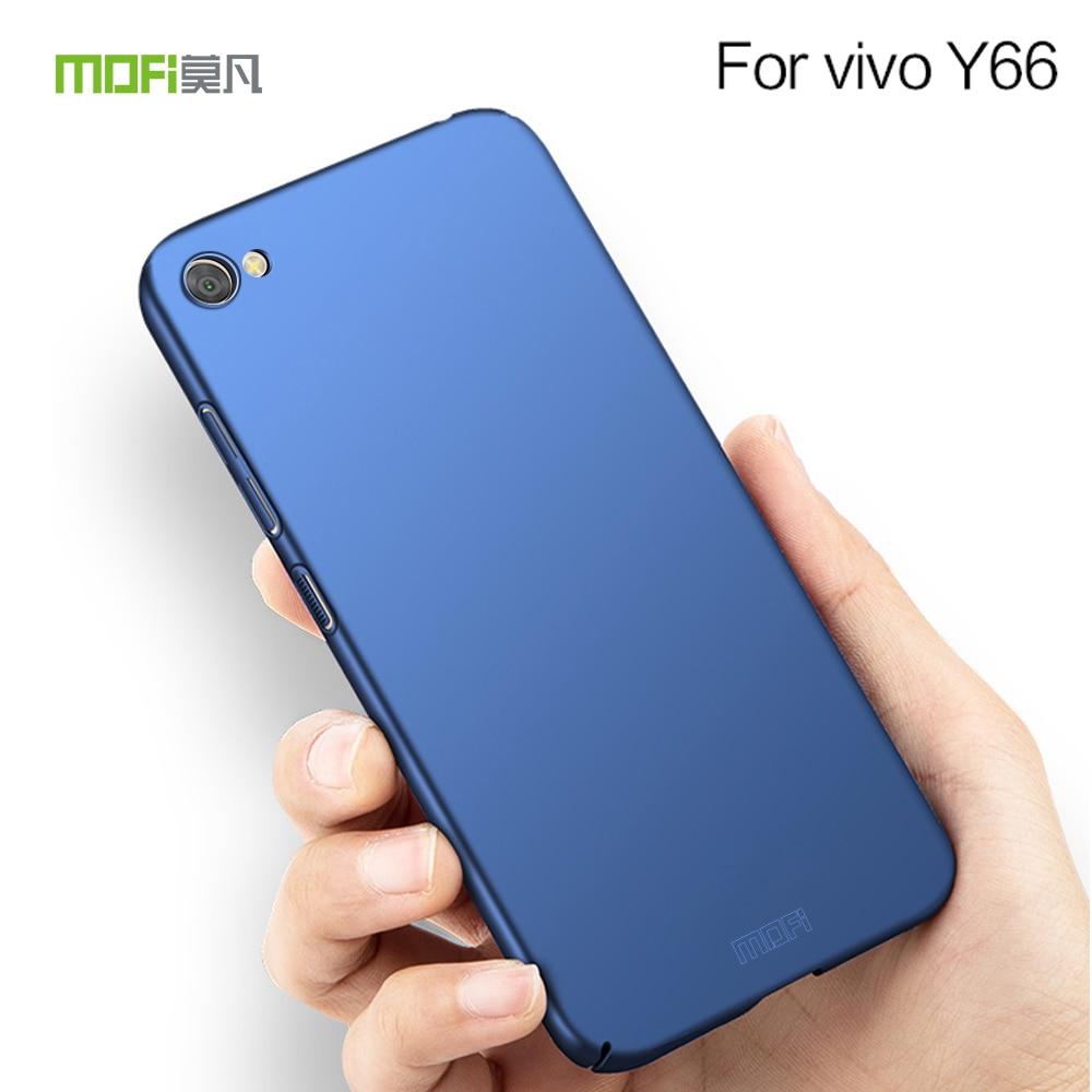 Para vivo Y66 V5 Lite Mobie funda de teléfono tapa trasera dura de PC para vivo Y66 V5 Lite Carcasa protectora de teléfono