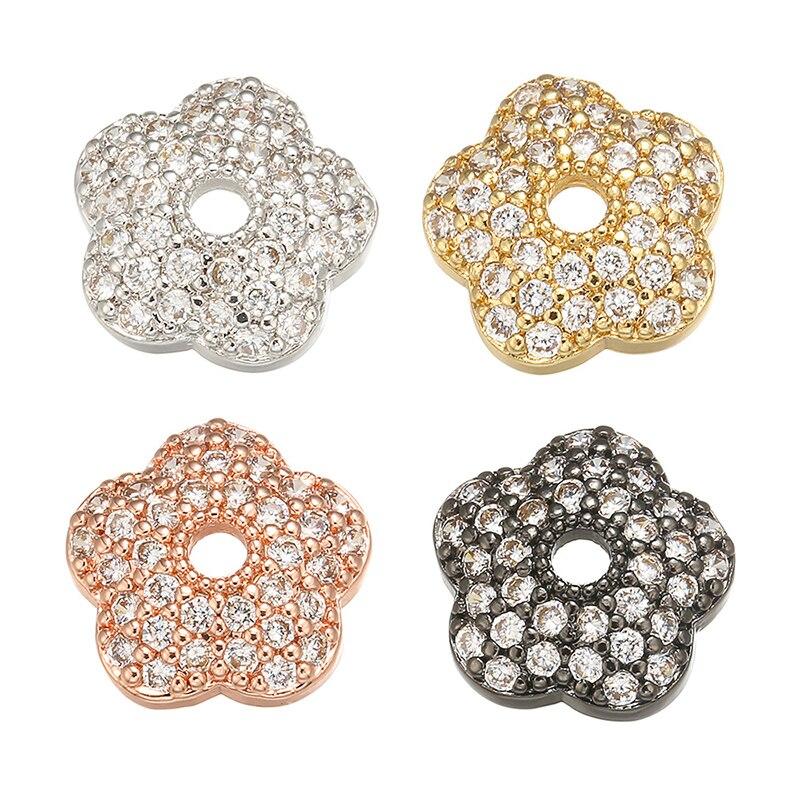 ZHUKOU/1 шт., 3x10 мм, тонкая латунная Кепка с кристаллами для модных браслетов ручной работы, ожерелий, серег, Аксессуары Модель: VH12