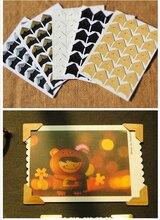 144 قطعة/الوحدة (6 أوراق) Corner بها بنفسك Corner الزاوية كرافت ورقة ملصقات albالصور إطار الديكور سكرابوكينغ GYH