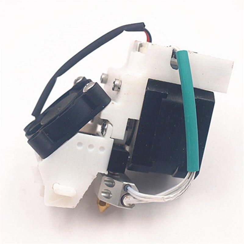 Funssor 1.75 مللي متر يصل الطارد رئيس كيت ل DIY يصل زائد Afinia 3D طابعة 0.4 مللي متر فوهة الطارد رئيس الجمعية عدة