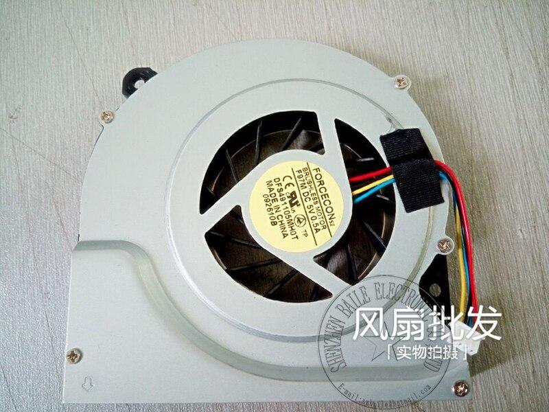(10 unids/lote) Nuevo FORCECON DFS491105MH0T F97M para ASUS NX90J NX90JN NX90JQ NX90S NX90SN ventilador de refrigeración de la CPU