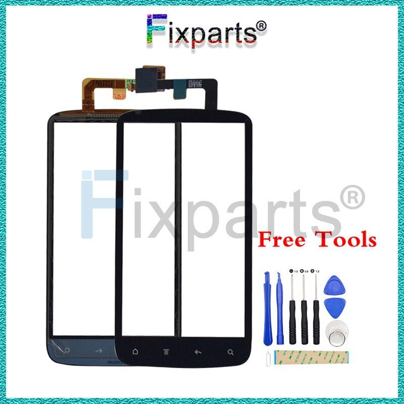 Para HTC Sensation 4G G14 Z710E Panel de pantalla táctil digitalizador lente de vidrio Sensor de reparación piezas de repuesto envío gratis
