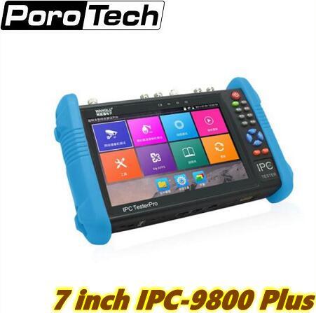 Сенсорный экран wanglu, 7 дюймов, IPS, разрешение 1280*800, аналоговый + IP + AHD + CVI + TVI + SDI, 6 в 1, Многофункциональный тестер видеонаблюдения
