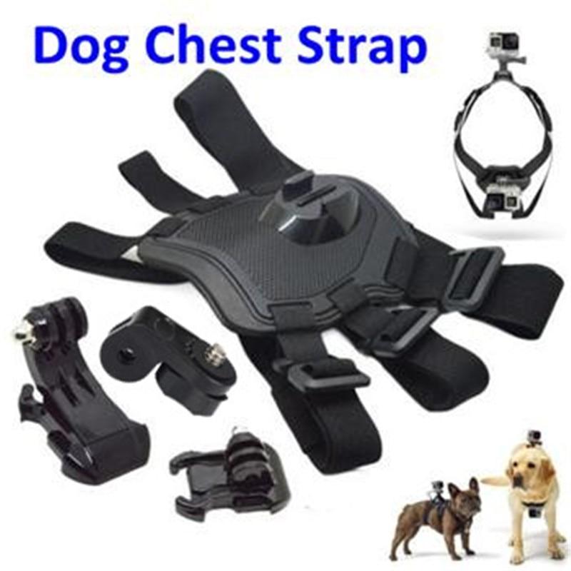 Accesorios para Gopro Hound arnés ajustable para perro correa de pecho para mascotas montaje de cinturón para Gopro Hero 4 Sj4000 Xiaomi Yi Accesorios