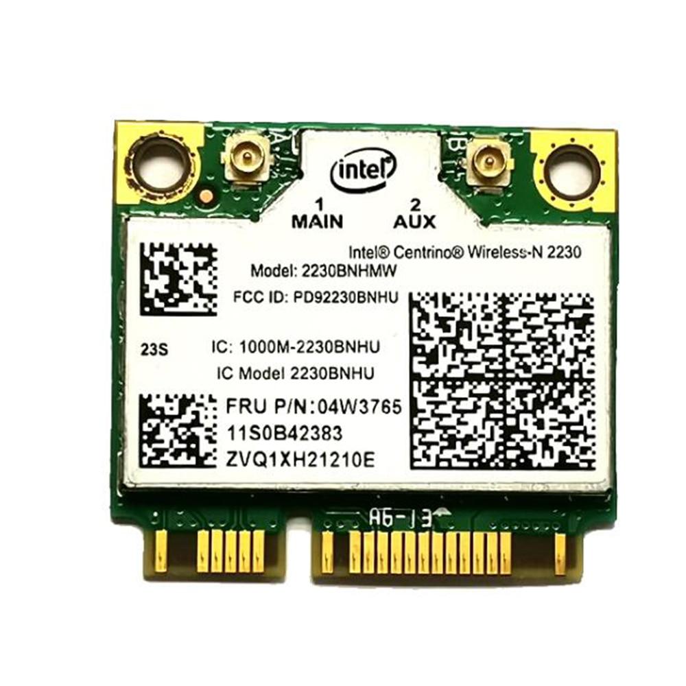 Intel Centrino Wireless-N 2230 de 2230 BNHMW 300 Mbps Wifi Bluetooth 4,0 Mini PCIe tarjeta wifi 04W3765 para y400 Y500 Y410P Y430P