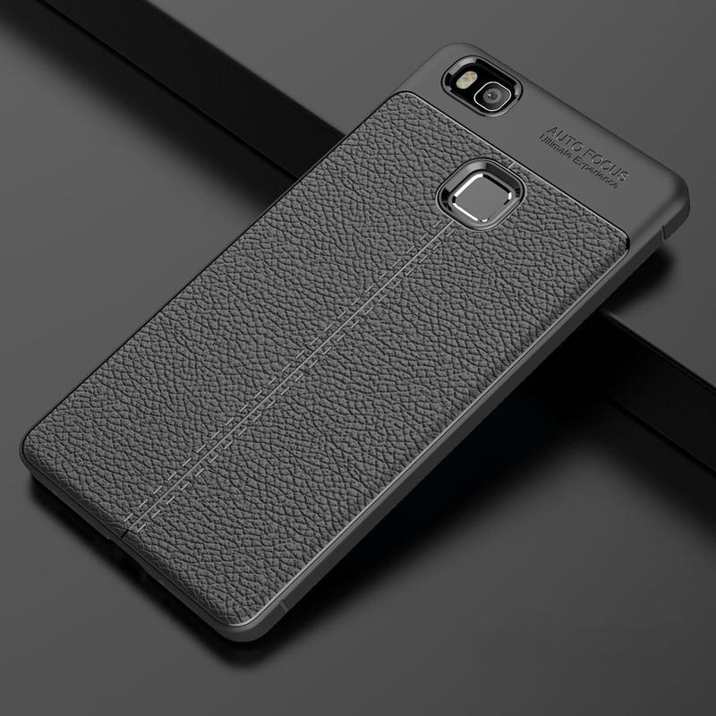 YUETUO кожаный узор tpu телефон etui, чехол для huawei p9 lite 2016 p 9 p9lite для hawei huwawei силиконовые аксессуары
