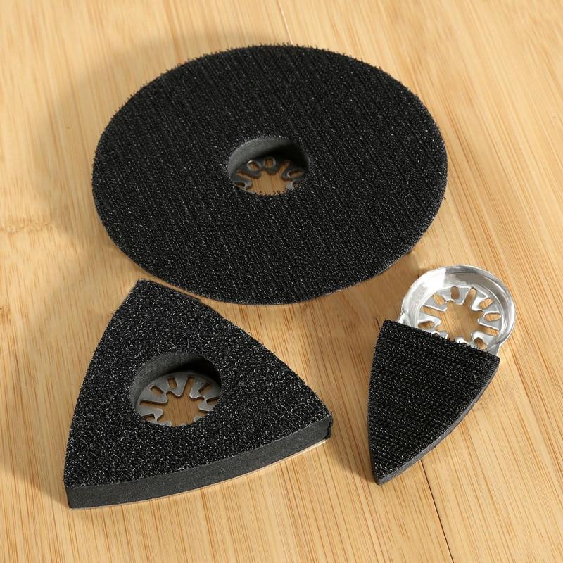 3 uds. Almohadillas de lijado HSS hojas de sierra herramienta oscilante múltiple para Bosch Worx Tch Fein HSS Sierra cuchillas Kit 2020 nuevo
