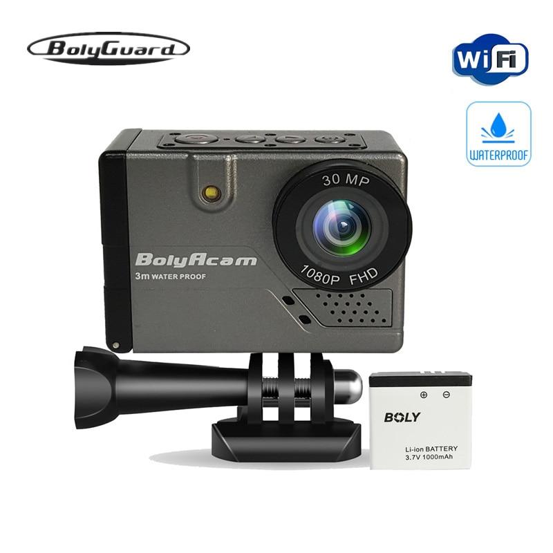 Bolyguard sport outdoor camera 30MP WIFI voice control waterproof 9ft photo traps trail camera night vision sport camera