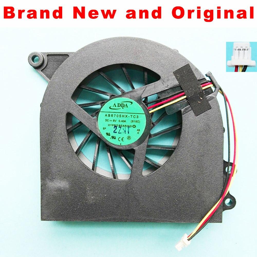 Brand New and Original CPU fan for ADDA AB6705HX-TC3 S15C laptop cpu cooling fan cooler