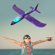 Jet de main avion EPP mousse lancement extérieur planeur avion enfants jouets 48 cm lancement intéressant lancer inertiel modèle cadeau drôle