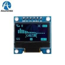6PIN 0,96 дюймов 6 контактов I/O IO SPI I2C OLED цифровой SSD1306 цифровой дисплей 12864 Синий ЖК модуль Плата DIY для Arduino 51 SMT32