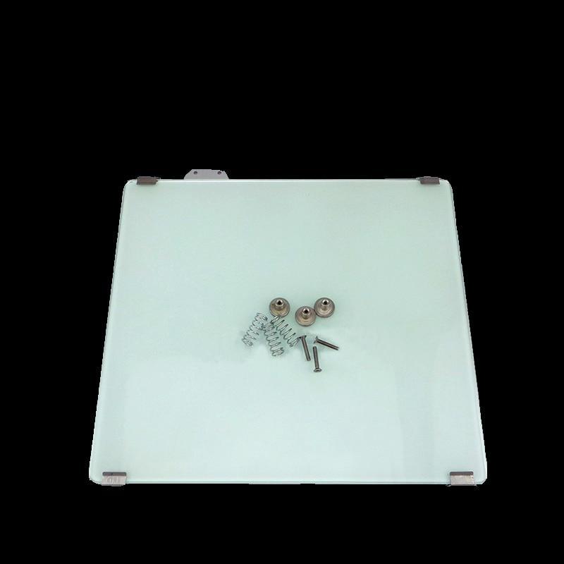 Impresora 3D um2 + cama calefactora + plataforma de cristal calentado + clip fijo de cristal + dispositivo de ajuste para Ultimaker2 + tornillo de resorte M3 3 juegos