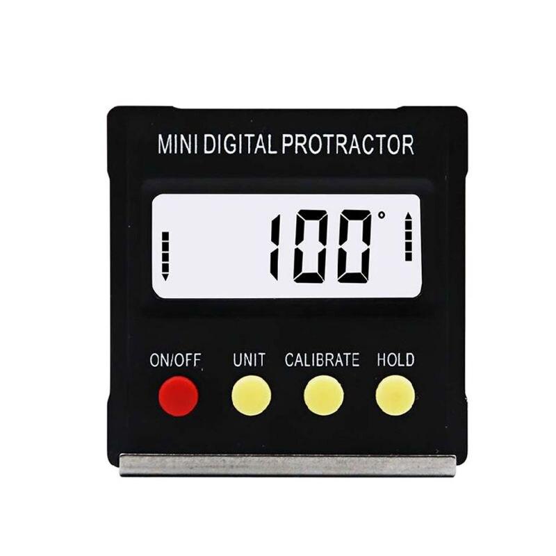 Mini eletrônico digital display magnético inclinômetro digital transferidor inclinação nível instrumento de medição