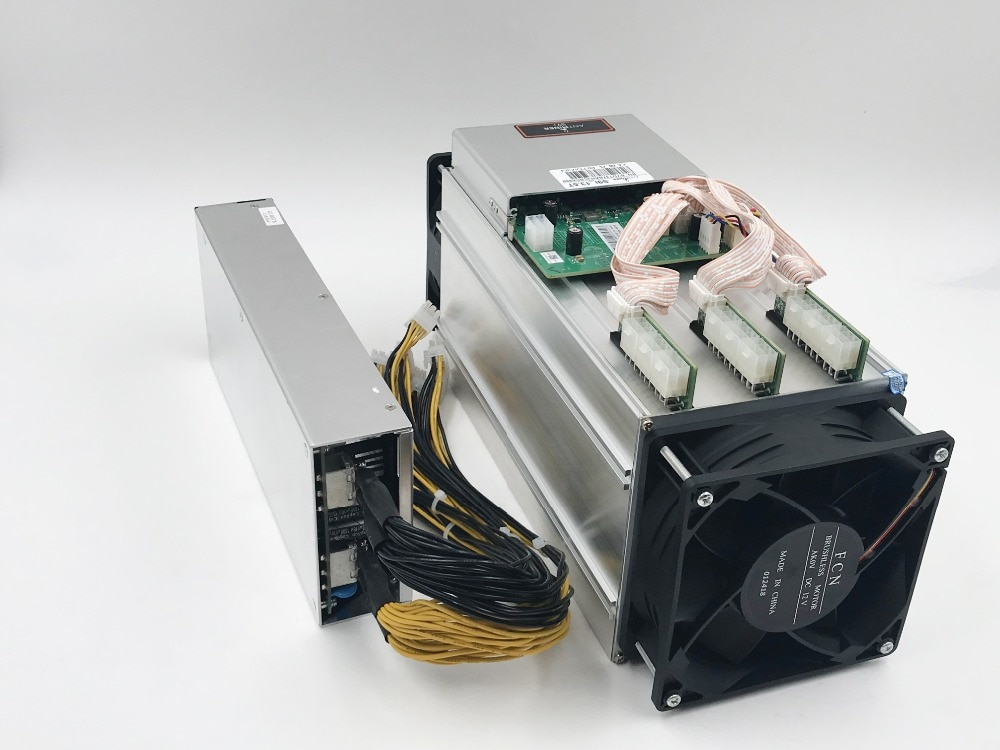 85~95% new old minerFree Shpping AntMiner S913.5T Asic miner of BTC BCH 16nm Bitmain Mining Machine form KUANGCHENG enlarge