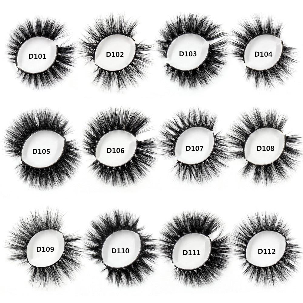 SOQOZ Eyelashes Luxury 3D Mink Hair Lashes Hand Made Fluffy Mink False Eyelashes Volume Fake Eye Las