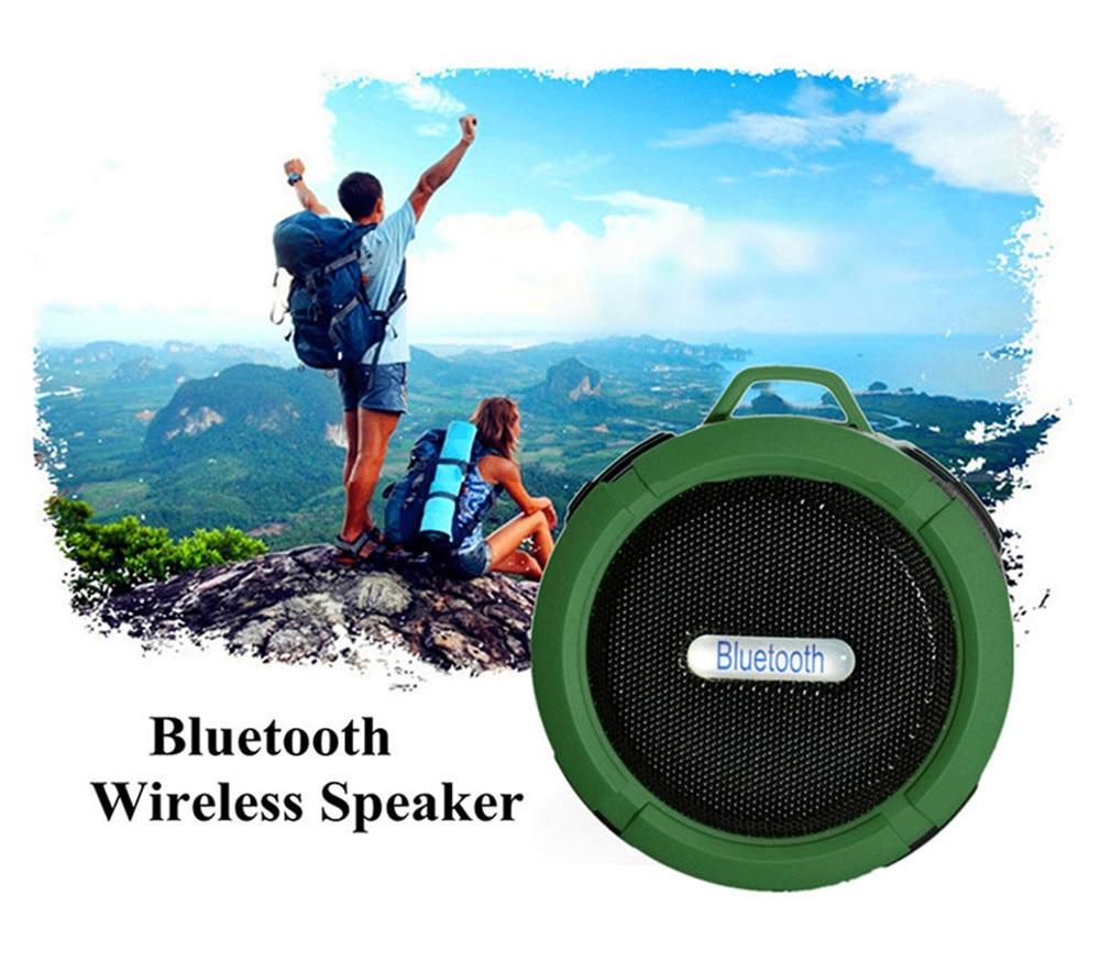 Портативный динамик Bluetooth открытый беспроводной музыкальный динамик сабвуфер спортивный стерео звук мини-динамик Bluetooth портативный бас