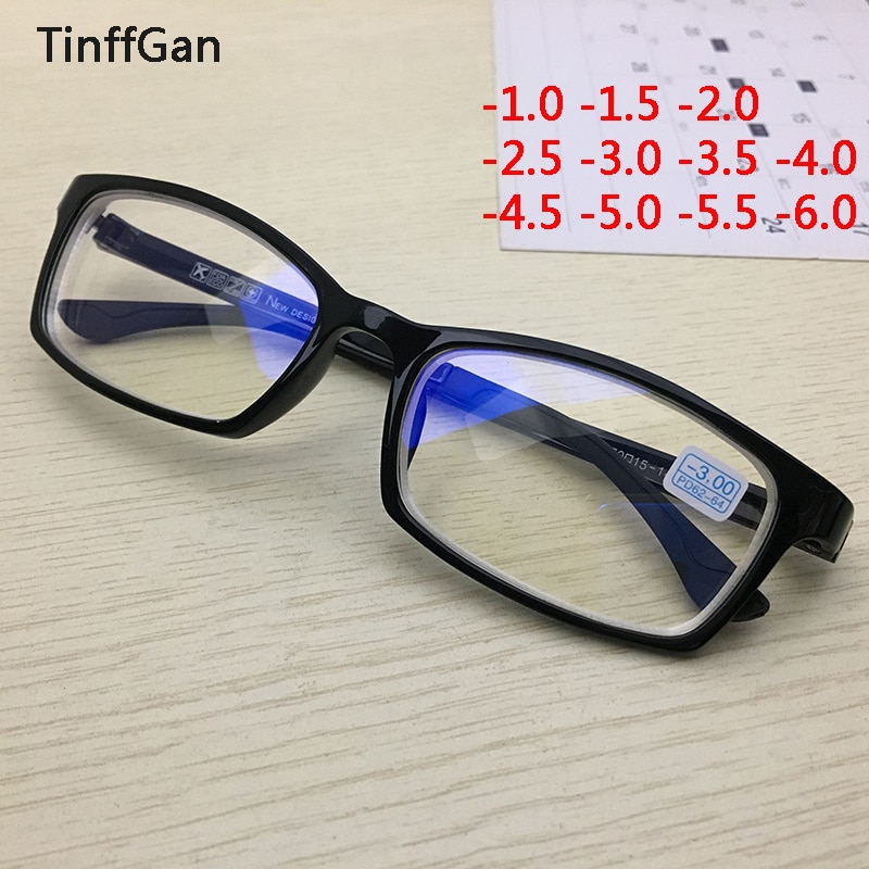 Gafas graduadas para miopía, gafas graduadas para hombres, gafas graduadas 2019 para mujer, gafas diópticas para miopía, gafas para miopía-3-4