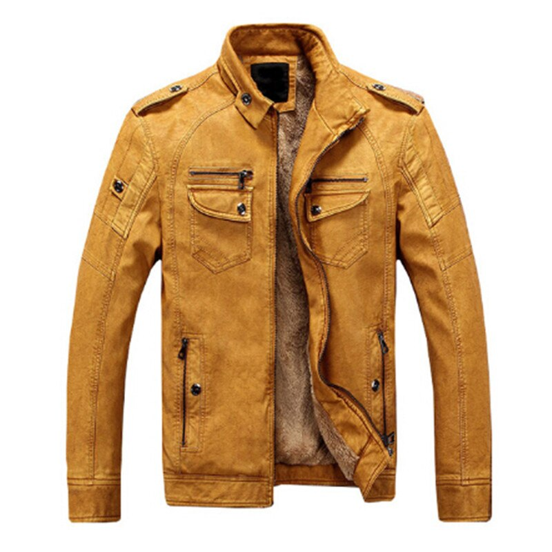 Autumn And Winter Men's Jacket Solid Color Casual Coat Zipper Men's Windbreaker Fashion New Men's Brand Clothing