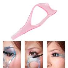 Nouveau 3 in1 Mascara applicateur Guide garde cils peigne cosmétique brosse bigoudi maquillage outils beauté essentiel outil livraison gratuite